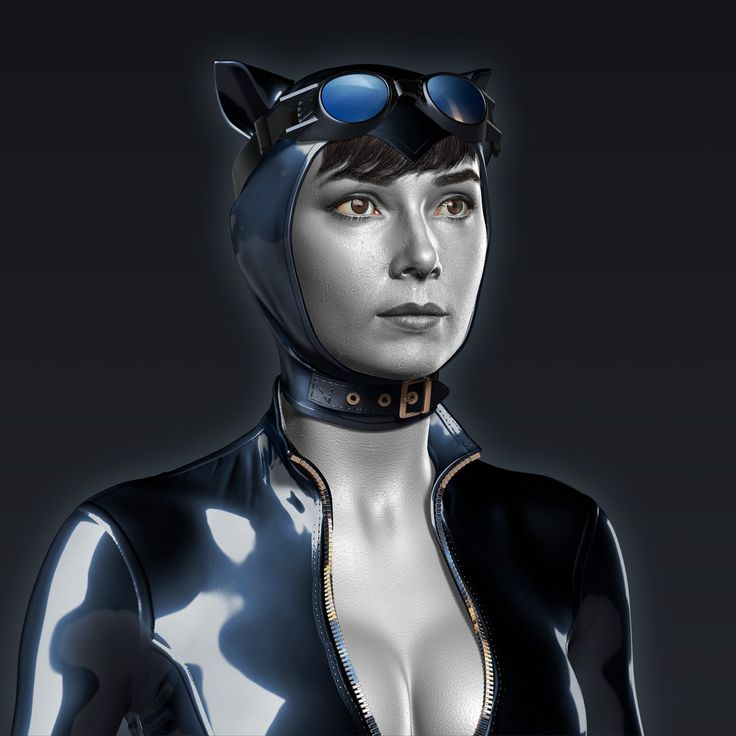 Catwoman, Zoltan Korcsok on ArtStation at https://www.artstation.com/artwork/gBgnG