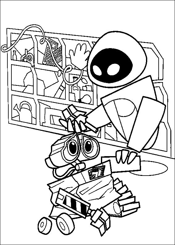 22 best Robots Coloring Pages images on Pinterest Robots