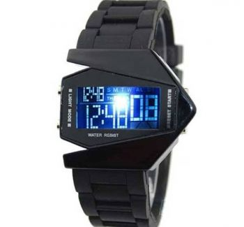 Multi-Color Stealth Fighter Watch | price : 850Tk | olimabazar.com