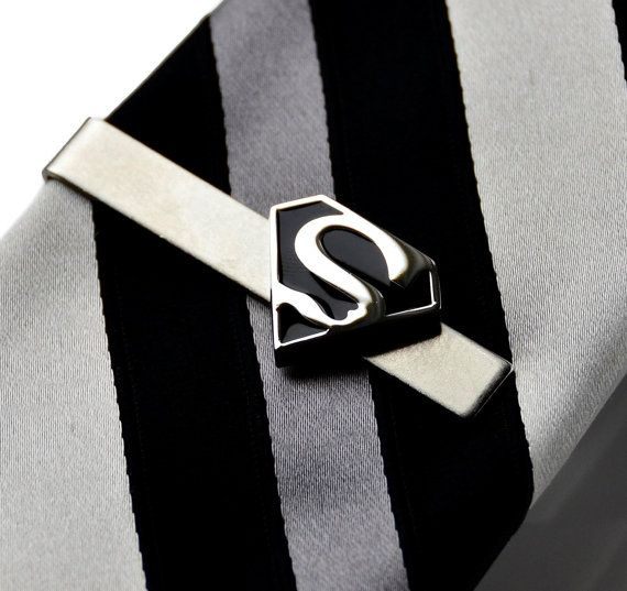 Superman Tie Clip Gift Box Included Guaranteed by Mancornas, $29.00 | See more about Tie Clips, Superman and Ties.