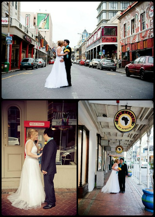 City wedding  www.weddingcouture.co.za