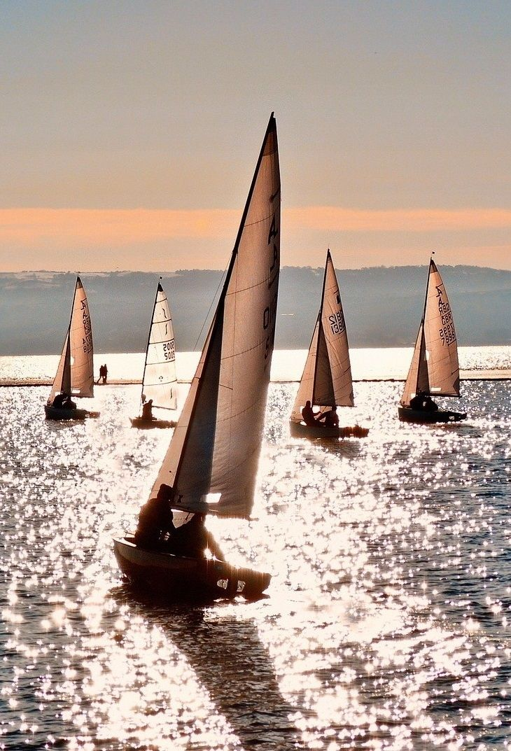 There is something about a sailboat on open water... Dreamy!