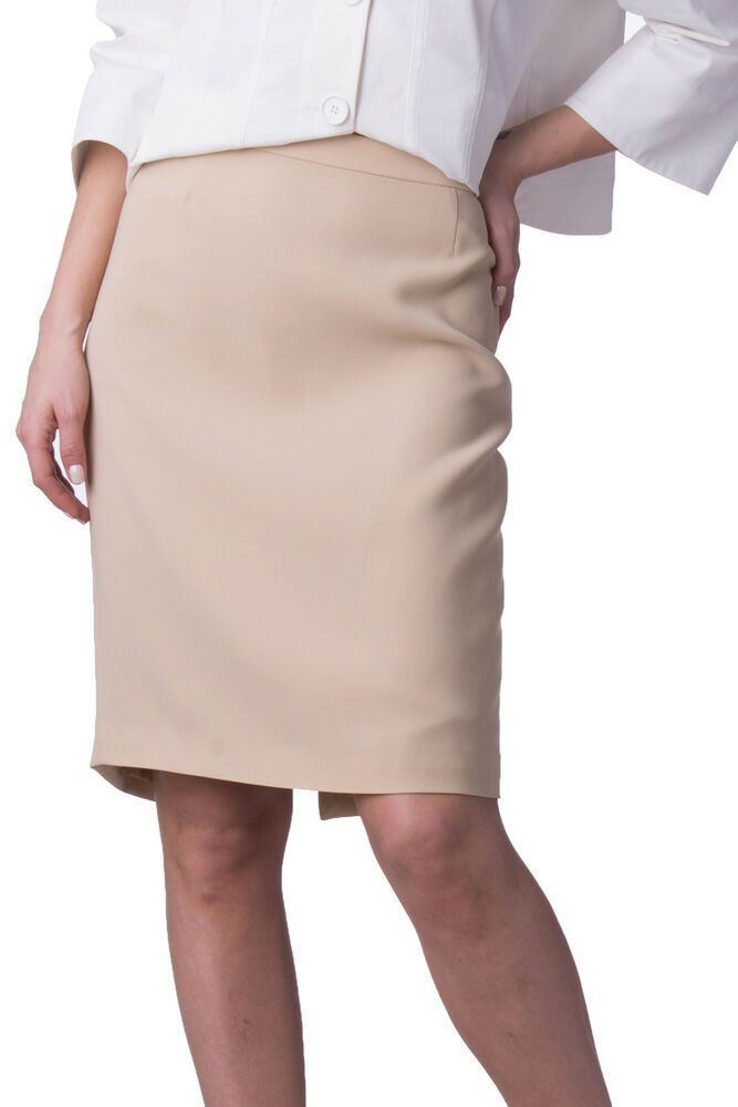 6e65a1fc15 MOSCHINO CHEAP AND CHIC Pencil Skirt Size 44 / L Beige Split Back RRP 169 # fashion #clothing #shoes #accessories #womensclothing #skirts (ebay link)