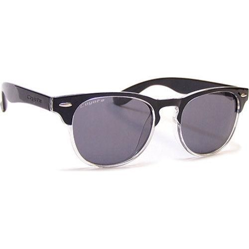 Coyote Eyewear Uptown Polarized Streetstyle Sunglasses /Clear Fade/Grey