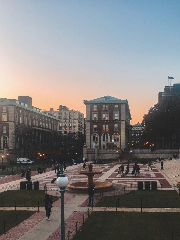 Campus of Columbia University in 2020 Dream college