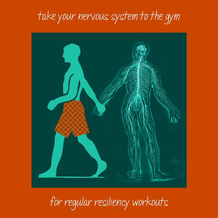 Take Your Nervous System To The Gym For Regular Resiliency Workouts!  Resiliency Building Skills To