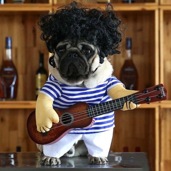 ペット服 ドッグウェア 犬服 猫服 のトレーナー 犬コスプレ Tiktokギター コスチューム ワンちゃん 変身服 ソフト コスプレ かわいい 仮装 小型犬用 中型犬用 人気 面白い 猫 服 ペット服 ペット