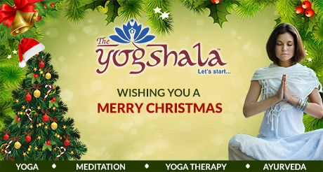 Team #TheYogshala wishes you all Merry Christmas. May your life be filled with joy and happiness!!! http://www.theyogshala.com #TheYogshala #MerryChristmas #Joy #Happiness #ChristmasWishes