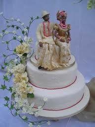 Nigerian Traditional wedding cake