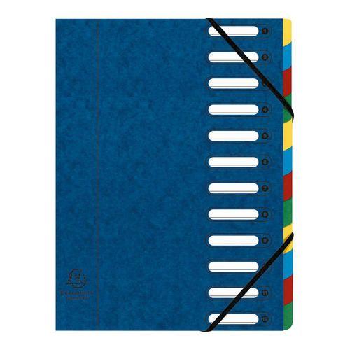 Exacompta cartella monitore con 12 divisori  ad Euro 18.90 in #Exacompta #Archivio raccoglitori accessori