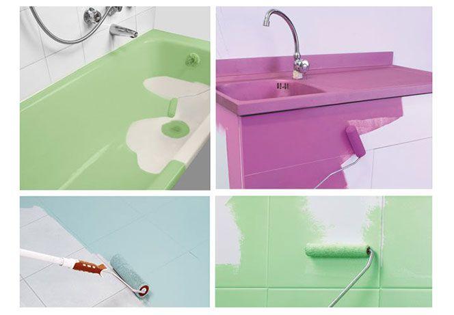 Oltre 1000 idee su pavimenti in cemento colorato su pinterest macchia di cemento pavimenti in - Dipingere bagno ...
