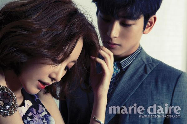Go Jun Hee and Jin Woon