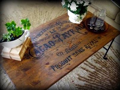 How to Transfer Typography onto Furniture >> Awesome!