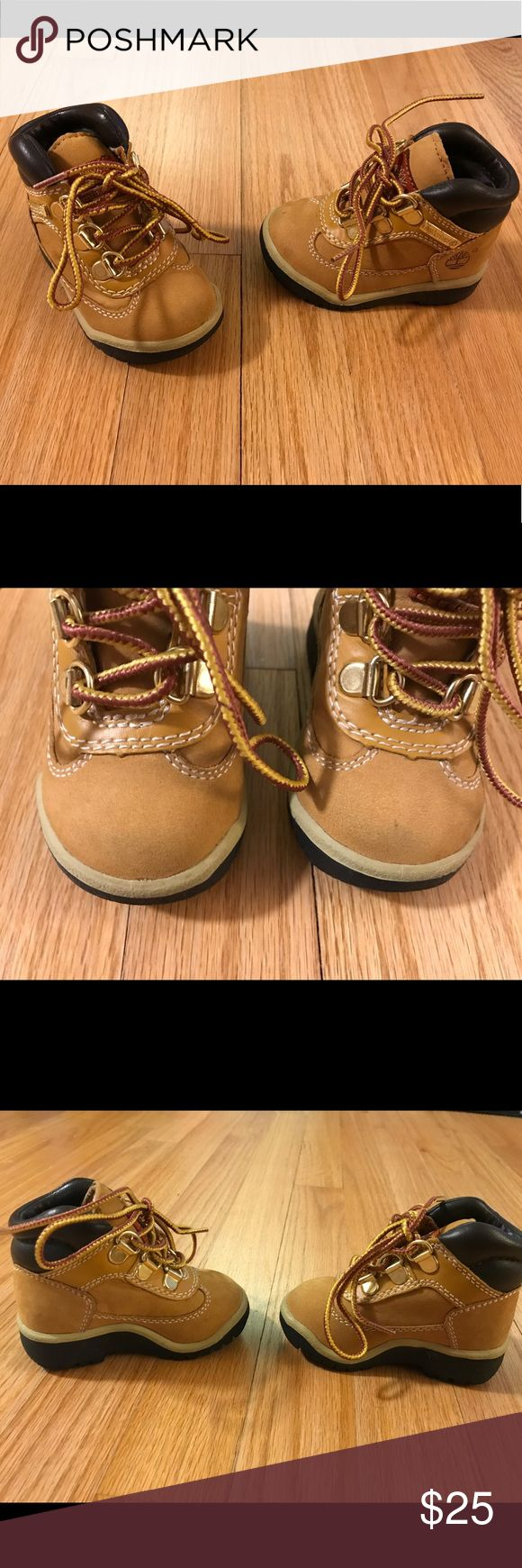 Infant Timberland Field boot Just adorable! Gently worn (3 times), infant field boot in size 4. Timberland Shoes Boots