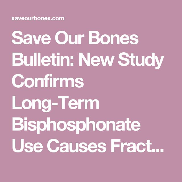 Save Our Bones Bulletin: New Study Confirms Long-Term Bisphosphonate Use Causes Fractures, Space Rats Test New Bone Drugs World Health Organization Scandal, And More!