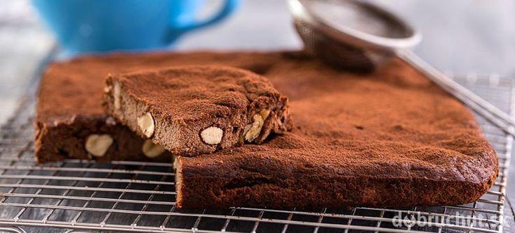 Čokoládový brownie z tofu