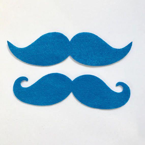 Mustache // Party Favor // Blanks // Die Cuts