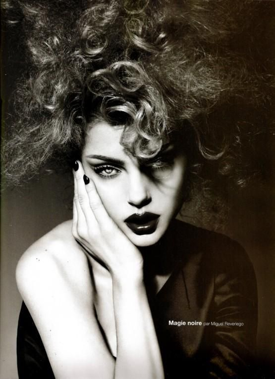"Magie Noir - by Miguel Reveriego  - Simply ART  ""Jessica Stam by Miguel Reveriego For Numero"""