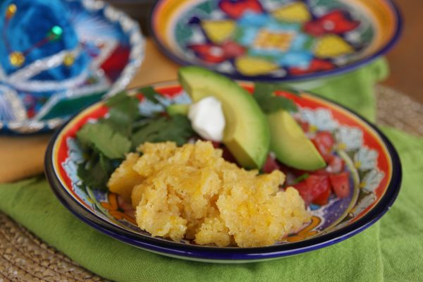Mexican Sweet Corn Cake ( have had this at a couple of my favorite Mexican restaurants, this recipe is pretty close to what I have enjoyed )