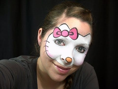 Maquillage de papillon rose - Tutoriel maquillage pour enfants / Maquillage papillon facile - YouTube