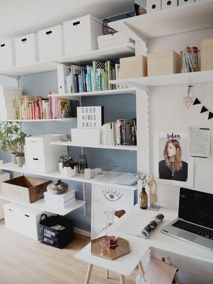 114 besten Aufbewahrungs-Tipps \/ Storage Bilder auf Pinterest - buro mobel praktisch organisieren platz sparen