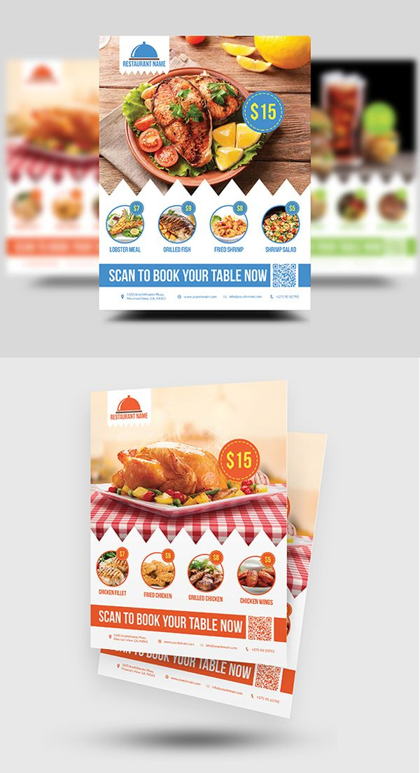 39 best Flyers images on Pinterest Advertising, Editorial design - food brochure