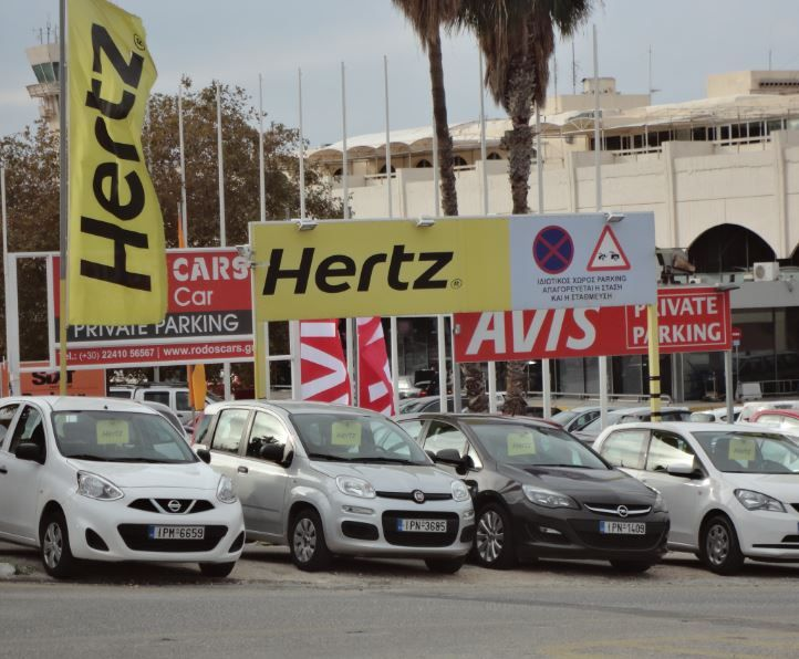 Have you considered renting a car during your stay on the island of Rhodes? It is one of the more popular ways of getting around!  http://theislandofrhodes.com/car-rental-in-rhodes-greece