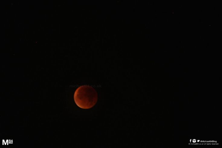 Super Blood Moon Lunar Eclipse In Newcastle Last Night