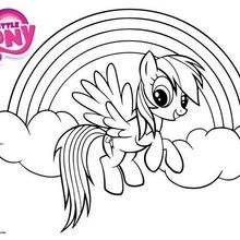 rainbow dash little pony coloring pages printable and coloring book to print for free find more coloring pages online for kids and adults of rainbow dash