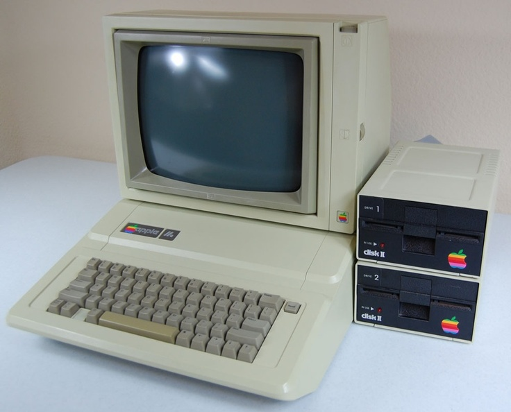 The Apple IIe computers were very common back in school from about 3rd grade all the way up to 11th grade. My first taste of Apple.