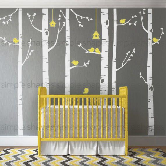 Best  Wall Stickers Tree Ideas On Pinterest Bird Wall Decals - Yellow bird wall decals