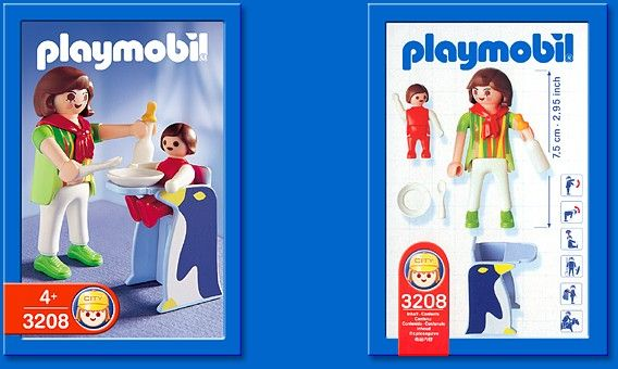 PLAYMOBIL� set #3208 - Mother and Baby