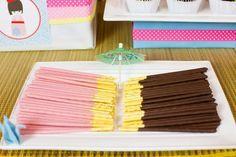 Japanese Party Ideas | ... Ideas via Kara's Party Ideas KarasPartyIdeas.com #Japan #Party #Ideas