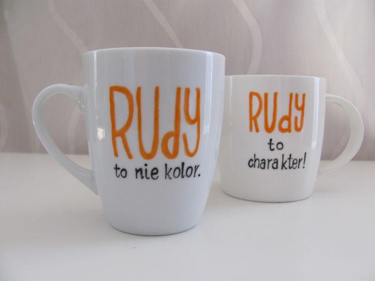 #Rudy to nie Kolor. #Rudy to charakter. #Kubek dla rudych. #Mug for redhead. #Mugs #komodapomyslow