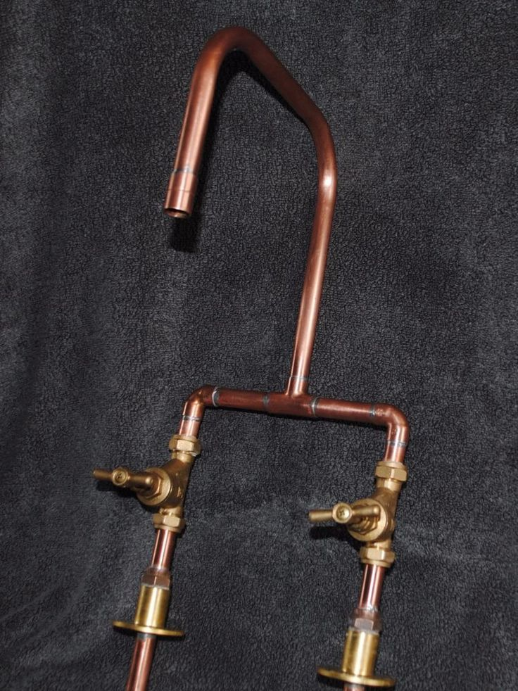 Handmade Copper Kitchen  Basin  Bath Mixer Tap   Industrial   Antique    VintageBest 25  Copper taps ideas on Pinterest   Taps  Copper fit and  . Gold Bathroom Taps Ebay. Home Design Ideas