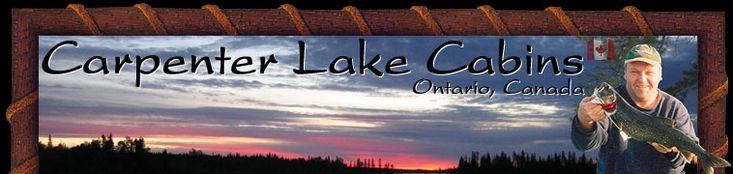Carpenter Lake Cabins in Bruce Mines #algomacountry