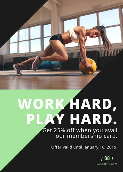 Shapes Fitness Flyer