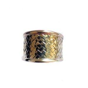 Gevlochten ring uit Bali. 925 zillver. Handgemaakt en fair trade