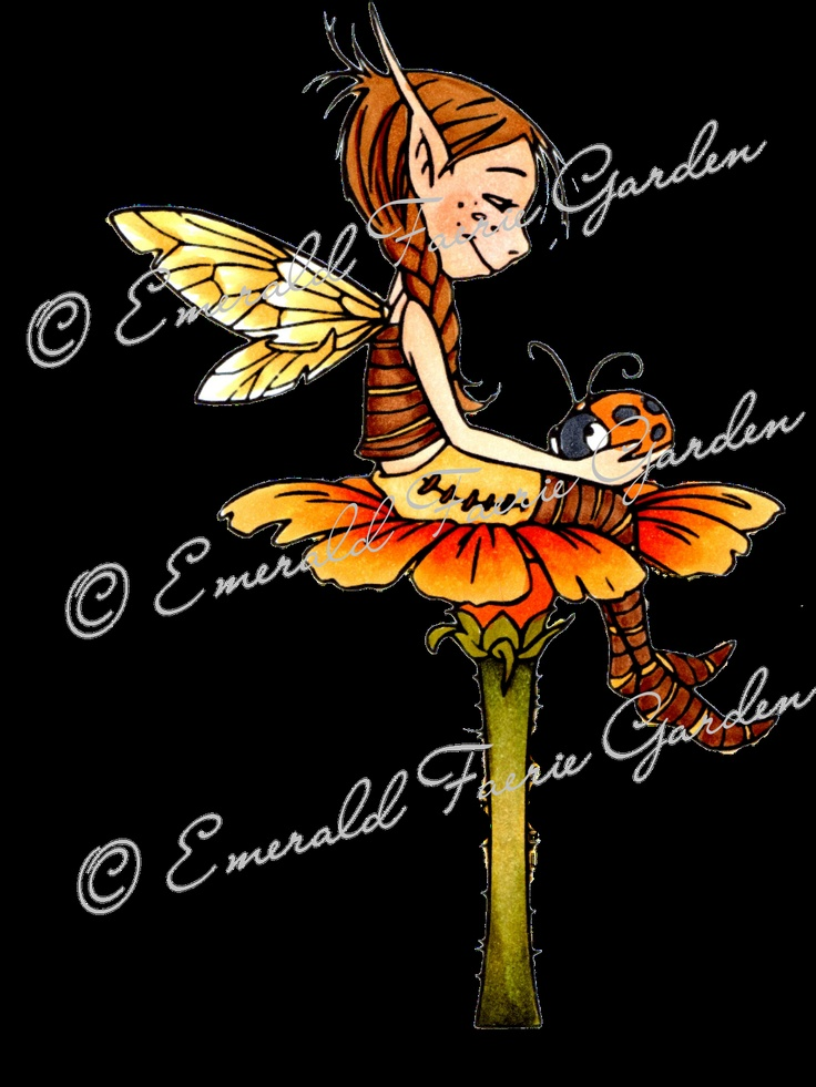 A and T Digital Designs SHOP: Emerald Faeries Stamps