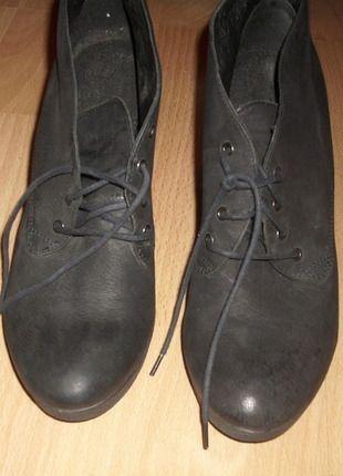Kup mój przedmiot na #vintedpl http://www.vinted.pl/damskie-obuwie/botki/10111173-szare-botki-obcas-rozmiar-3637