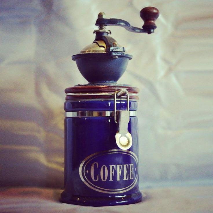 Old school coffee grinder