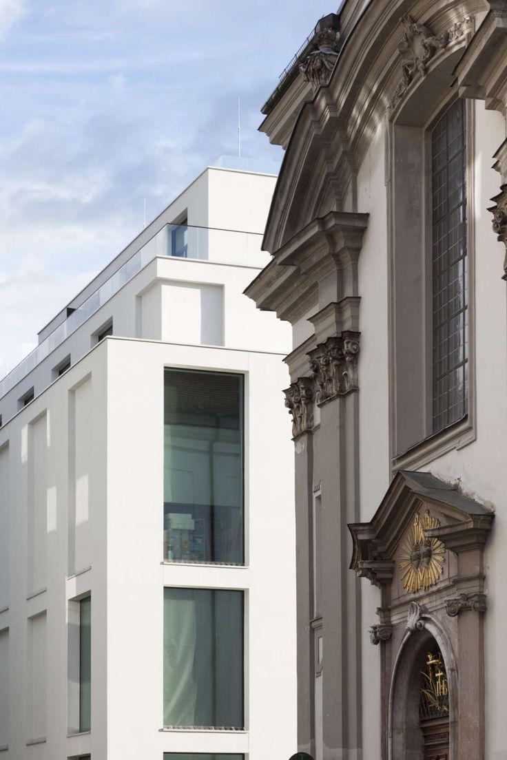 Joseph Pschorr Haus in Münich by Kuehn Malvezzi. Photo by Stefan Müller-Naumann.