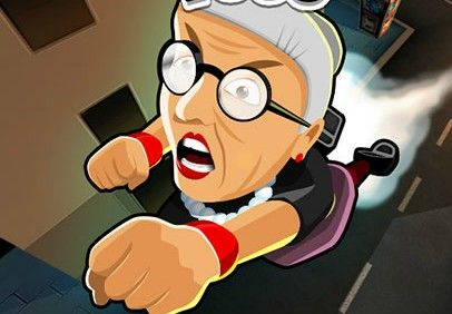 Angry Grandtoss - Amazing Action Games