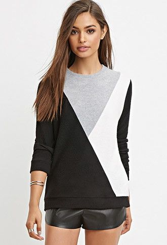Geo-Patterned Sweater | Forever 21 - 2000156702