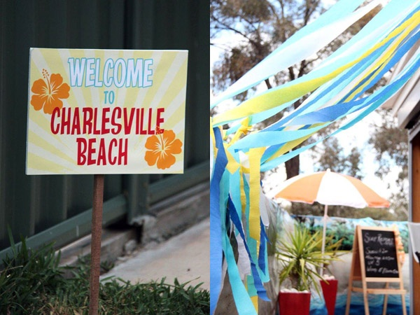 Show us your party – Charles' beach birthday