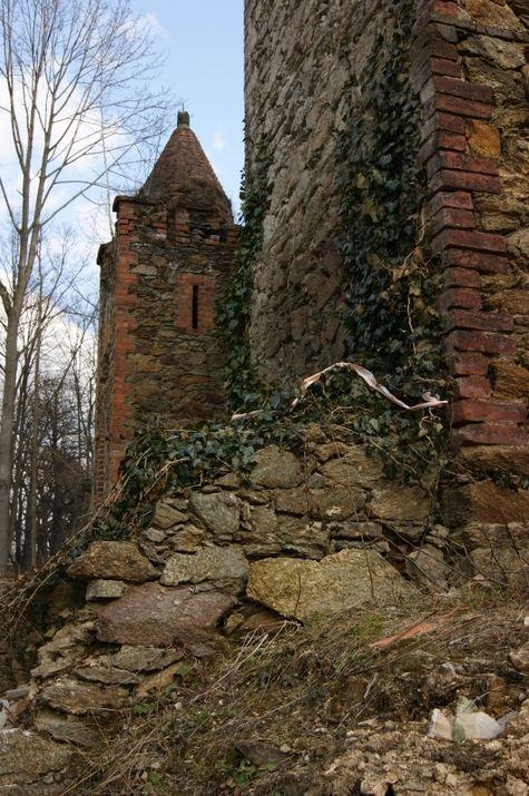 Szlaki Kulturowe: Zapusta - ruiny Zamku Rajsko, XIV-XIX