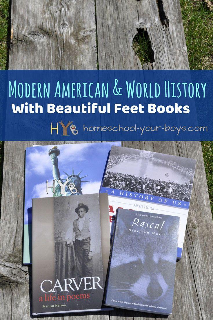 Modern American World History With Beautiful Feet Books