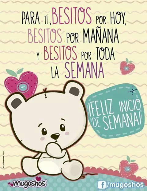 Feliz Inicio de Semana http://enviarpostales.net/imagenes/feliz-inicio-semana/ Saludos de Buenos Días Mensaje Positivo Buenos Días Para Ti Buenos Dias