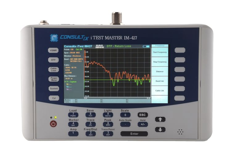 The Cable & Antenna Analyzer is an exciting new product from Techwin China that enables users to accurately measure VSWR/return loss and the location of the VSWR/return loss faults in their RF infrastructure.