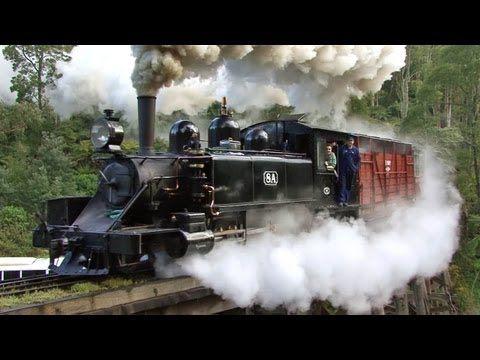 ▶ Steam Trains in the Dandenongs - Puffing Billy Railway: Australian Trains - YouTube